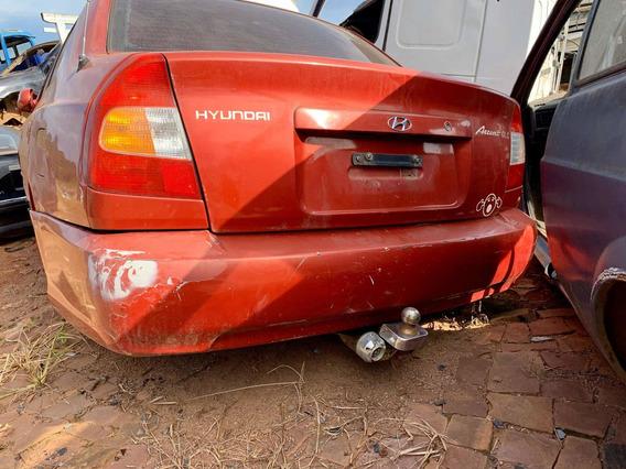 Pára-choque Traseiro Hyundai Accent Gls