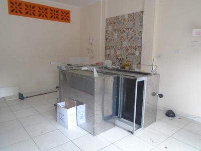 Loja Para Alugar, 36 M² Por R$ 1.600/mês - Campo Grande - Santos/sp - Lo0032