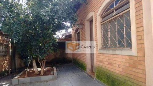 Casa Com 3 Dormitórios À Venda, 150 M² Por R$ 480.000,00 - Parque Jambeiro - Campinas/sp - Ca3163