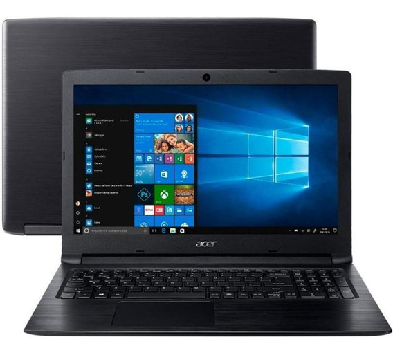 Notebook Acer Aspire3 A31533c39f Dual Core 500gb Windows 10
