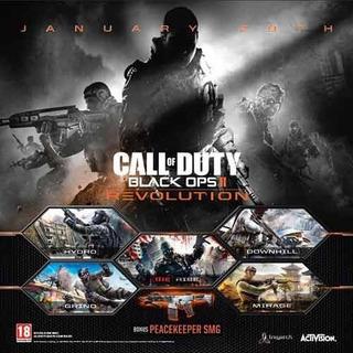 Dlc Call Of Duty Black Ops 2 Revolution Ps3 Digital