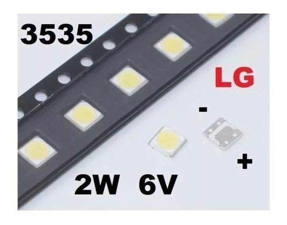Kit Led 50pcs Tv LG Innotek 3535 Smd 6v 2w Sem Abas