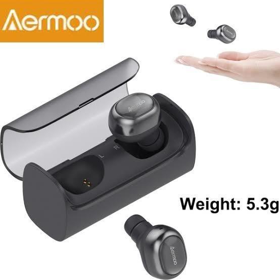Aermoo Tws Earphone Wireless Bluetooth 5.0