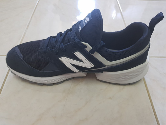 Tênis New Balance 574 Azul Marinho Masculino