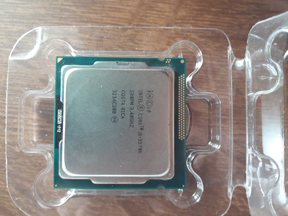 Processador Intel Core I5-3570k 3.40ghz 6mb Lga1155 & Cooler