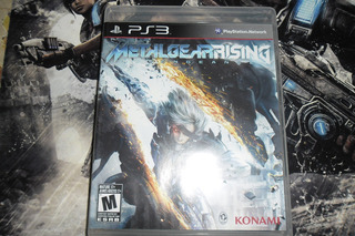 Metal Gear Rising Para Ps3