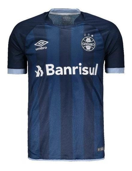 Camisa Grêmio Umbro 2018 Marinho N° 7 Original I 9413