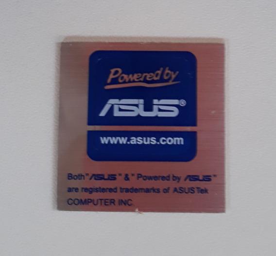 Adesivo Original Powered By Asus (metalizado)