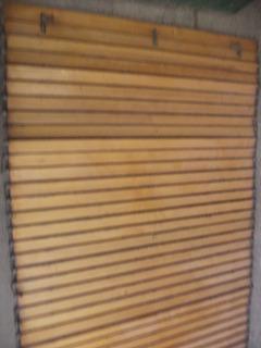 Cortinas De Enrollar Tipo Barrios -madera Rauli -1,42 X 1,55