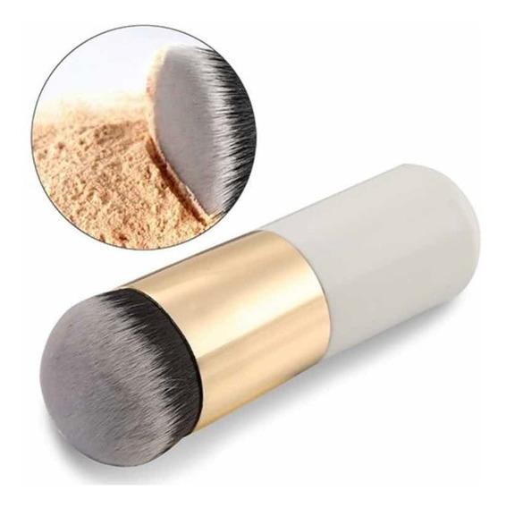 Brocha Kabuki Individual Pincel Base Maquillaje Makeup