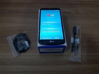 Smartphone LG K10 K430tv Tela Quebrada