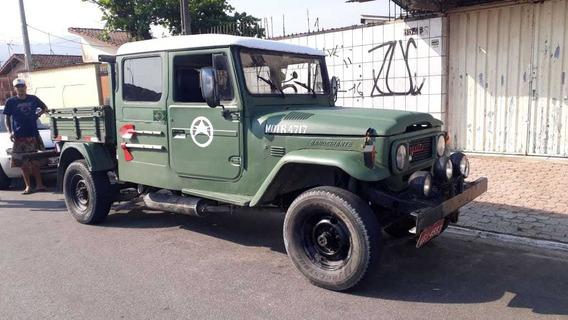 Guincho Toyota Bandeirante Mec.operacional 1981 Raridade!!!