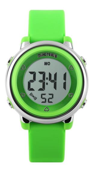 Relógio Infantil Skmei Verde - Lindo!