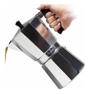 Cafetera Pes-3306, 6 Copas, Aluminio