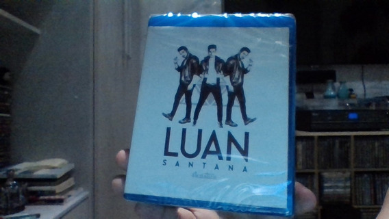 Blu-ray Luan Santana Acústico Lacrado Frete 10 R$