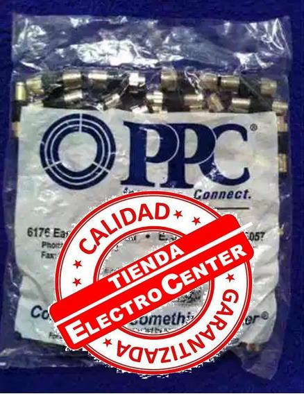 Conectores Rg6 10 Piezas, Coaxial, Directv (somos Tienda)