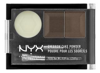 Kit Para Cejas Eyebrow Cake Powder, Nyx , 2.6g