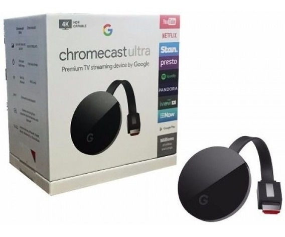 Google Chromecast 4k Ultra Hd 2017 Original Hdmi