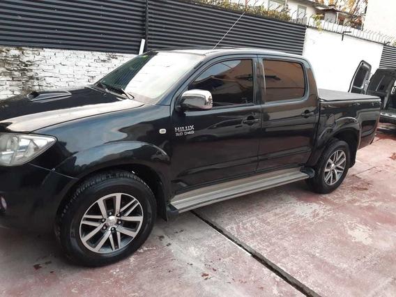Toyota Hilux 3.0 I Srv Cab Doble 4x2 Cuero 2009