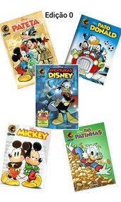 Lançamento 30 Gibis Disney Edições 0 E 01 Culturama/ Há Rep.