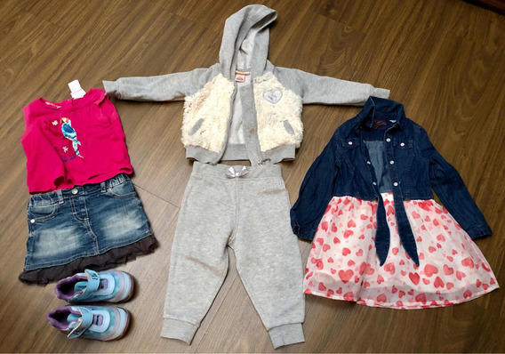 Lote Ropa Niña 12mes Conjunto Juicy Couture Guess Jeans 18