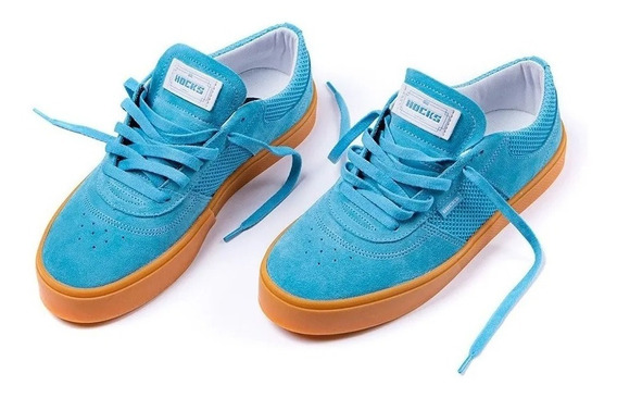 Tênis Hocks Skate Tempus Blue Gum Azul Natural Original