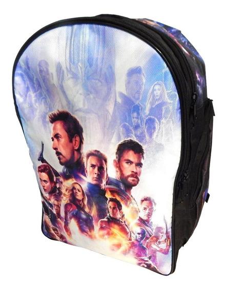 Mochila Avengers Endgame Thanos Capitana Marvel Ironman Thor