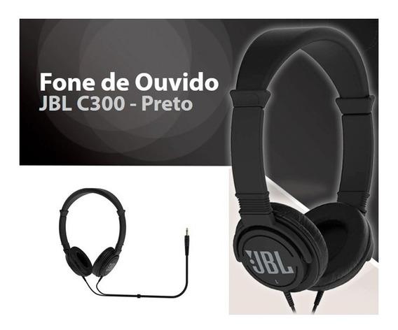 Fone De Ouvido Jbl C300si On-ear Heasphones - Preto