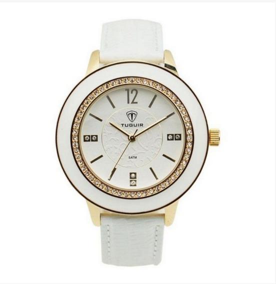 Relógio Feminino Tuguir Analógico 5079g Branco