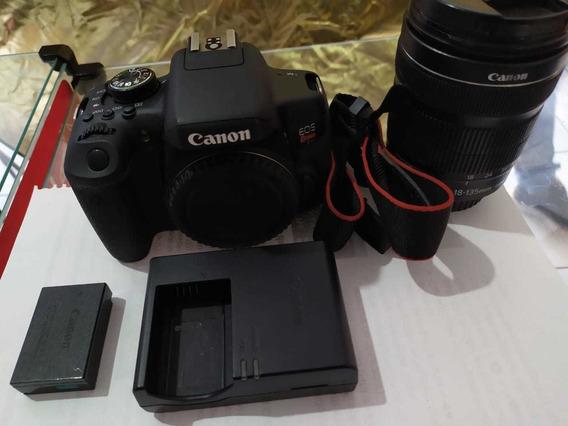 Canon T6i + Lente 18-135