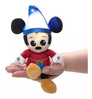 Disney Store Mickey Mouse Peluche 18 Cm Luz De Led Sensitivo