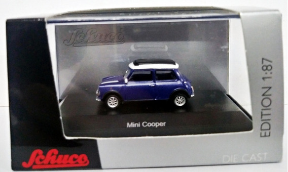 Mini Cooper - Escala 1/87 H0 Schuco