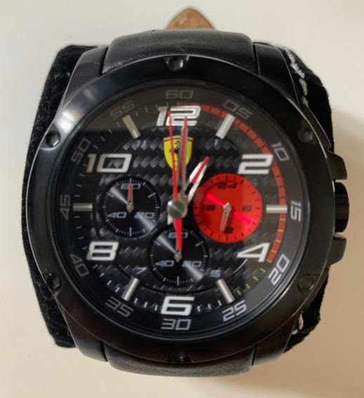 Relógio Ferrari Pulseira Em Couro
