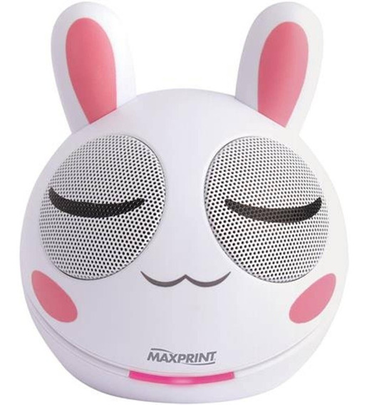 Caixa De Som Portátil Mini Rabbit Maxprint 4w