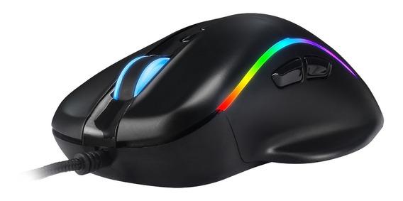 Mouse Gamer Titan Ms318 14400 Dpi Macro 7 Botões Programavél