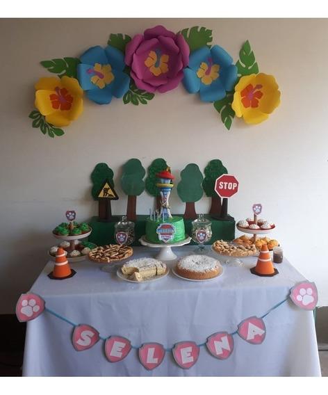 Flores De Papel Cumpleaños Candy Bar
