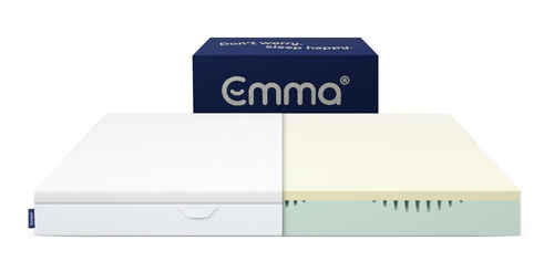 Imagen 1 de 4 de Colchón Emma Essential Matrimonial   Memory Foam