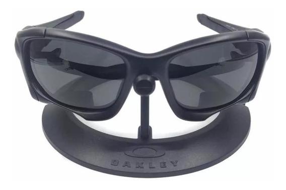 Oculos De Sol Pit Boss Todo Preto Polarizado Promoçâo Saldâo