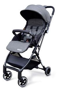 Cochecito Mega Baby Bebe Ultraliviano Plagado Con Una Mano Y Manija Transportable
