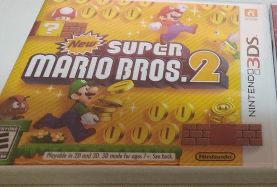 New Super Mario Bros 2 3ds - Midia Fisica Original