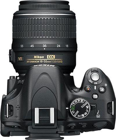Câmera Nikon + Lente 18-55mm + Lente 55-300mm