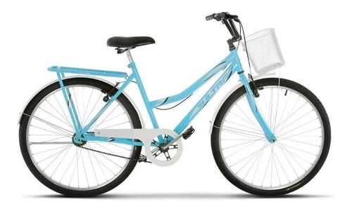 Imagem 1 de 1 de Bicicleta  urbana Ultra Bikes Summer Tropical aro 26 freios v-brakes cor azul-bebê/branco