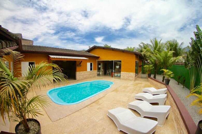 Casa Nova, 4 Suítes, Piscina Privativa A 700m Praia Maresias