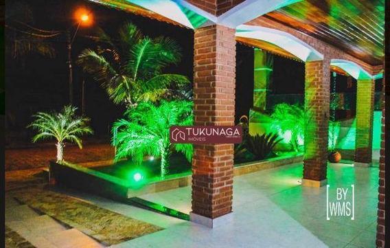 Casa Com 5 Dormitórios À Venda, 330 M² Por R$ 1.179.000 - Boracéia - Bertioga/sp - Ca0537