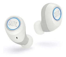 Fone De Ouvido Jbl Free Bluetooth Branco - C/ Nota Fiscal