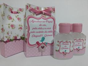 15 Lembrancinhas/álcool Gel/maternidade/chá De Bebê /menina