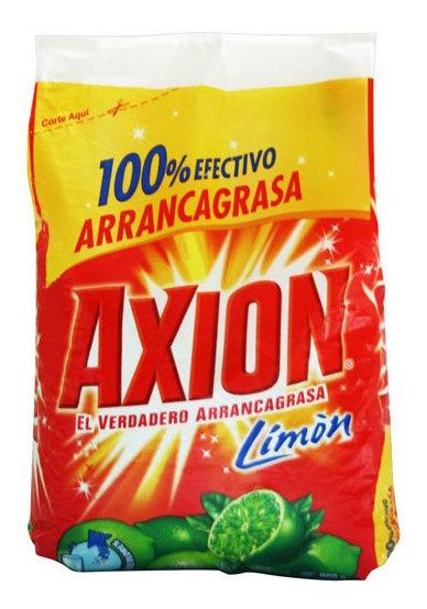 Jabón En Polvo Para Trastes Axion De 720gr 14 Piezas