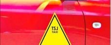 Placa De Taxi Tsj Base Cero, Sin Carro