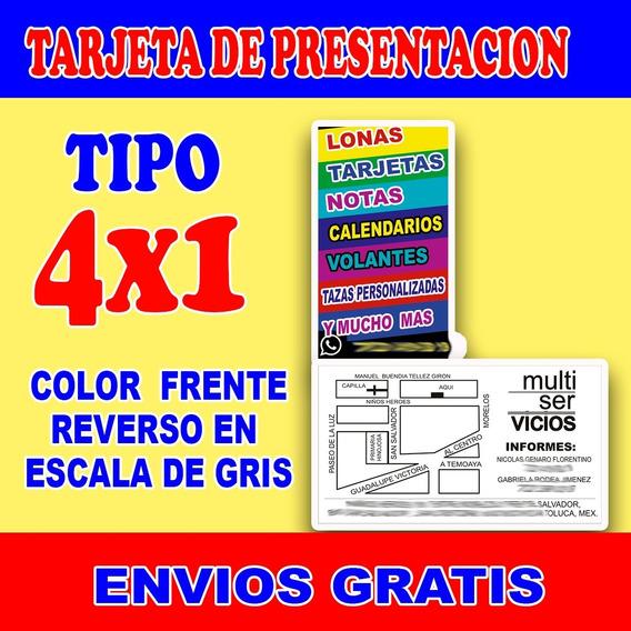 Millar De Tarjetas De Presentacion A Color