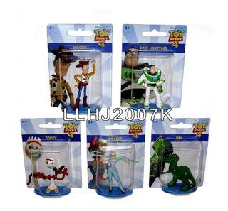 Toy Story 4 Movie 5 Mini Figuras 7 Cm Baf Disney Pixar